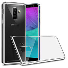 Coque Antichocs Rigide Transparente Crystal pour Samsung Galaxy A6 Plus Clair