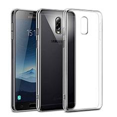 Coque Antichocs Rigide Transparente Crystal pour Samsung Galaxy J7 Plus Clair