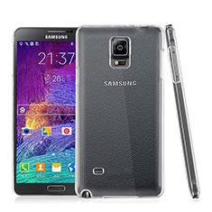 Coque Antichocs Rigide Transparente Crystal pour Samsung Galaxy Note 4 Duos N9100 Dual SIM Clair