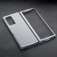 Coque Antichocs Rigide Transparente Crystal pour Samsung Galaxy Z Fold2 5G Noir