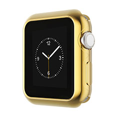 Coque Bumper Luxe Aluminum Metal A01 pour Apple iWatch 42mm Or