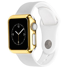 Coque Bumper Luxe Aluminum Metal C03 pour Apple iWatch 42mm Or