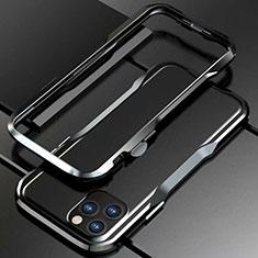 Coque Bumper Luxe Aluminum Metal Etui pour Apple iPhone 11 Pro Noir