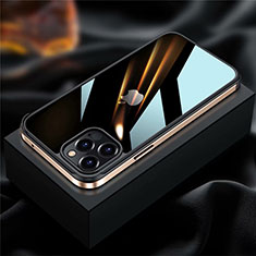 Coque Bumper Luxe Aluminum Metal Etui pour Apple iPhone 12 Pro Or
