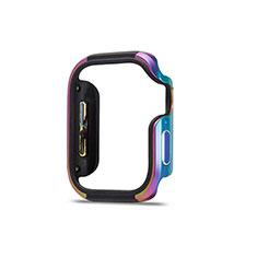 Coque Bumper Luxe Aluminum Metal Etui pour Apple iWatch 5 40mm Colorful