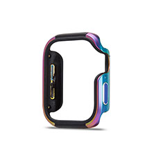 Coque Bumper Luxe Aluminum Metal Etui pour Apple iWatch 5 44mm Colorful