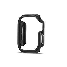 Coque Bumper Luxe Aluminum Metal Etui pour Apple iWatch 5 44mm Noir