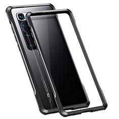 Coque Bumper Luxe Aluminum Metal Etui pour Xiaomi Mi 10 Ultra Noir