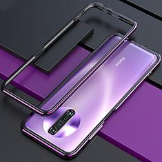 Coque Bumper Luxe Aluminum Metal Etui pour Xiaomi Poco X2 Violet