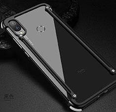 Coque Bumper Luxe Aluminum Metal Etui pour Xiaomi Redmi Note 7 Pro Noir