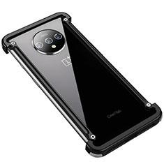Coque Bumper Luxe Aluminum Metal Etui T01 pour OnePlus 7T Noir