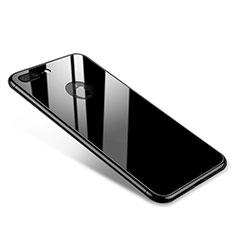 Coque Bumper Luxe Aluminum Metal Miroir Housse Etui pour Apple iPhone 7 Plus Noir
