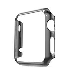Coque Bumper Luxe Aluminum Metal pour Apple iWatch 42mm Gris