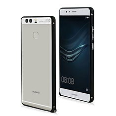Coque Bumper Luxe Aluminum Metal pour Huawei P9 Noir