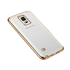 Coque Bumper Luxe Aluminum Metal pour Samsung Galaxy Note 4 SM-N910F Or