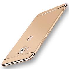 Coque Bumper Luxe Metal et Plastique Etui Housse M01 pour Huawei G8 Or