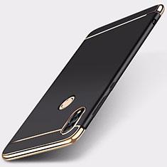 Coque Bumper Luxe Metal et Plastique Etui Housse M01 pour Huawei Honor 10 Lite Noir