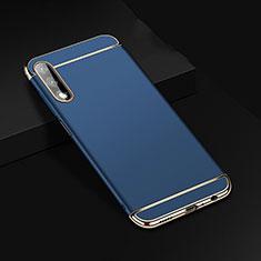 Coque Bumper Luxe Metal et Plastique Etui Housse M01 pour Huawei Honor 9X Bleu