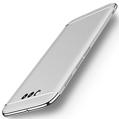 Coque Bumper Luxe Metal et Plastique Etui Housse M01 pour Huawei Honor Magic Argent