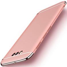 Coque Bumper Luxe Metal et Plastique Etui Housse M01 pour Huawei Honor Magic Or Rose