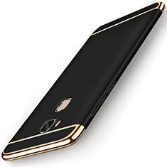 Coque Bumper Luxe Metal et Plastique Etui Housse M01 pour Huawei Honor Play 5X Noir