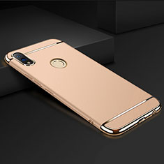 Coque Bumper Luxe Metal et Plastique Etui Housse M01 pour Huawei Honor V10 Lite Or