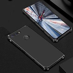 Coque Bumper Luxe Metal et Plastique Etui Housse M01 pour Huawei Honor V20 Noir