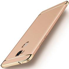 Coque Bumper Luxe Metal et Plastique Etui Housse M01 pour Huawei Honor X5 Or