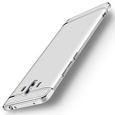 Coque Bumper Luxe Metal et Plastique Etui Housse M01 pour Huawei Mate 10 Argent