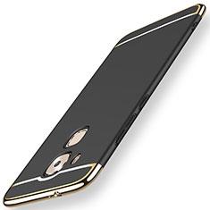 Coque Bumper Luxe Metal et Plastique Etui Housse M01 pour Huawei Mate 7 Noir