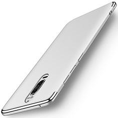 Coque Bumper Luxe Metal et Plastique Etui Housse M01 pour Huawei Mate 9 Pro Argent