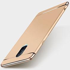 Coque Bumper Luxe Metal et Plastique Etui Housse M01 pour Oppo R17 Pro Or