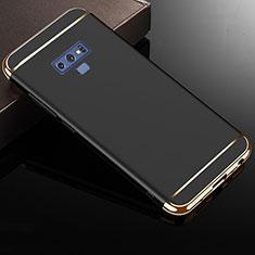Coque Bumper Luxe Metal et Plastique Etui Housse M01 pour Samsung Galaxy Note 9 Noir