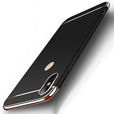 Coque Bumper Luxe Metal et Plastique Etui Housse M01 pour Xiaomi Mi 8 Noir