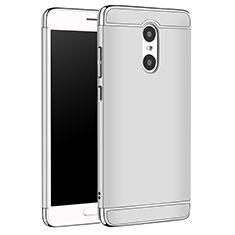Coque Bumper Luxe Metal et Plastique Etui Housse M01 pour Xiaomi Redmi Pro Argent
