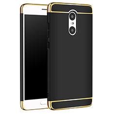 Coque Bumper Luxe Metal et Plastique Etui Housse M01 pour Xiaomi Redmi Pro Noir