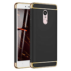 Coque Bumper Luxe Metal et Plastique Etui Housse M02 pour Xiaomi Redmi Note 4 Noir