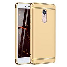 Coque Bumper Luxe Metal et Plastique Etui Housse M02 pour Xiaomi Redmi Note 4 Or