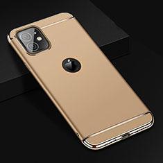 Coque Bumper Luxe Metal et Plastique Etui Housse T01 pour Apple iPhone 11 Or