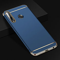 Coque Bumper Luxe Metal et Plastique Etui Housse T01 pour Huawei Honor 20 Lite Bleu