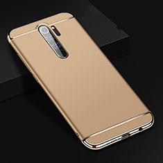 Coque Bumper Luxe Metal et Plastique Etui Housse T01 pour Xiaomi Redmi Note 8 Pro Or