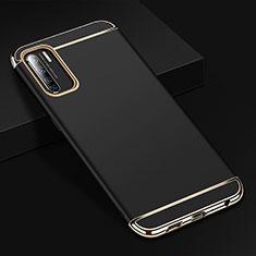 Coque Bumper Luxe Metal et Plastique Etui Housse T02 pour Oppo Find X2 Lite Noir