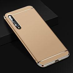 Coque Bumper Luxe Metal et Plastique Etui Housse T02 pour Xiaomi Mi 10 Pro Or