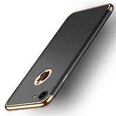 Coque Bumper Luxe Metal et Plastique M02 pour Apple iPhone 7 Noir