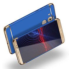 Coque Bumper Luxe Metal et Plastique M02 pour Huawei Mate 8 Bleu