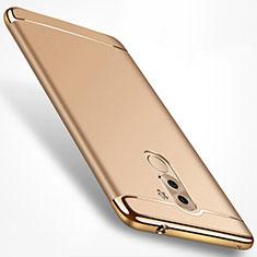 Coque Bumper Luxe Metal et Plastique M02 pour Huawei Mate 9 Lite Or