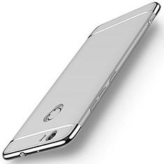 Coque Bumper Luxe Metal et Plastique M02 pour Huawei Nova Argent