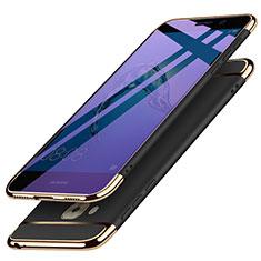 Coque Bumper Luxe Metal et Plastique M02 pour Huawei Nova Plus Noir