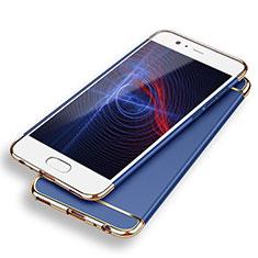 Coque Bumper Luxe Metal et Plastique M02 pour Huawei P9 Bleu