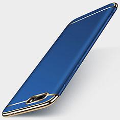 Coque Bumper Luxe Metal et Plastique pour Huawei Honor 10 Bleu